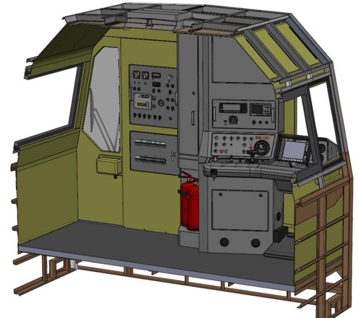 312D kabina 1 transportszynowy
